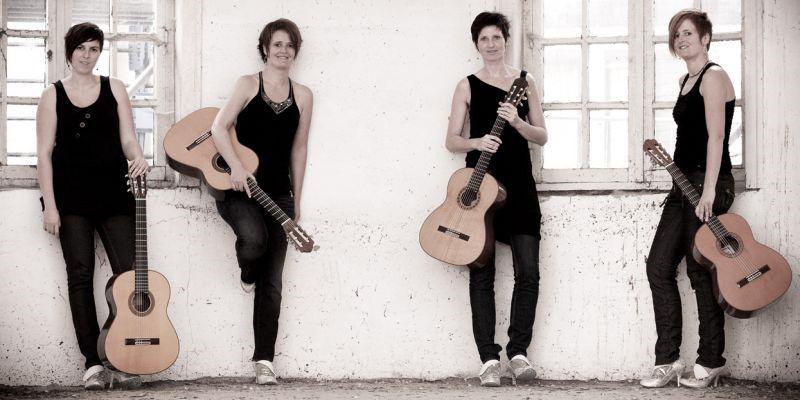 Lenteconcerten: Four Times a Lady & Anido Guitar Duo @ Sint-Hubertuskapel Monasterium Poortackere   Gent   Vlaanderen   België