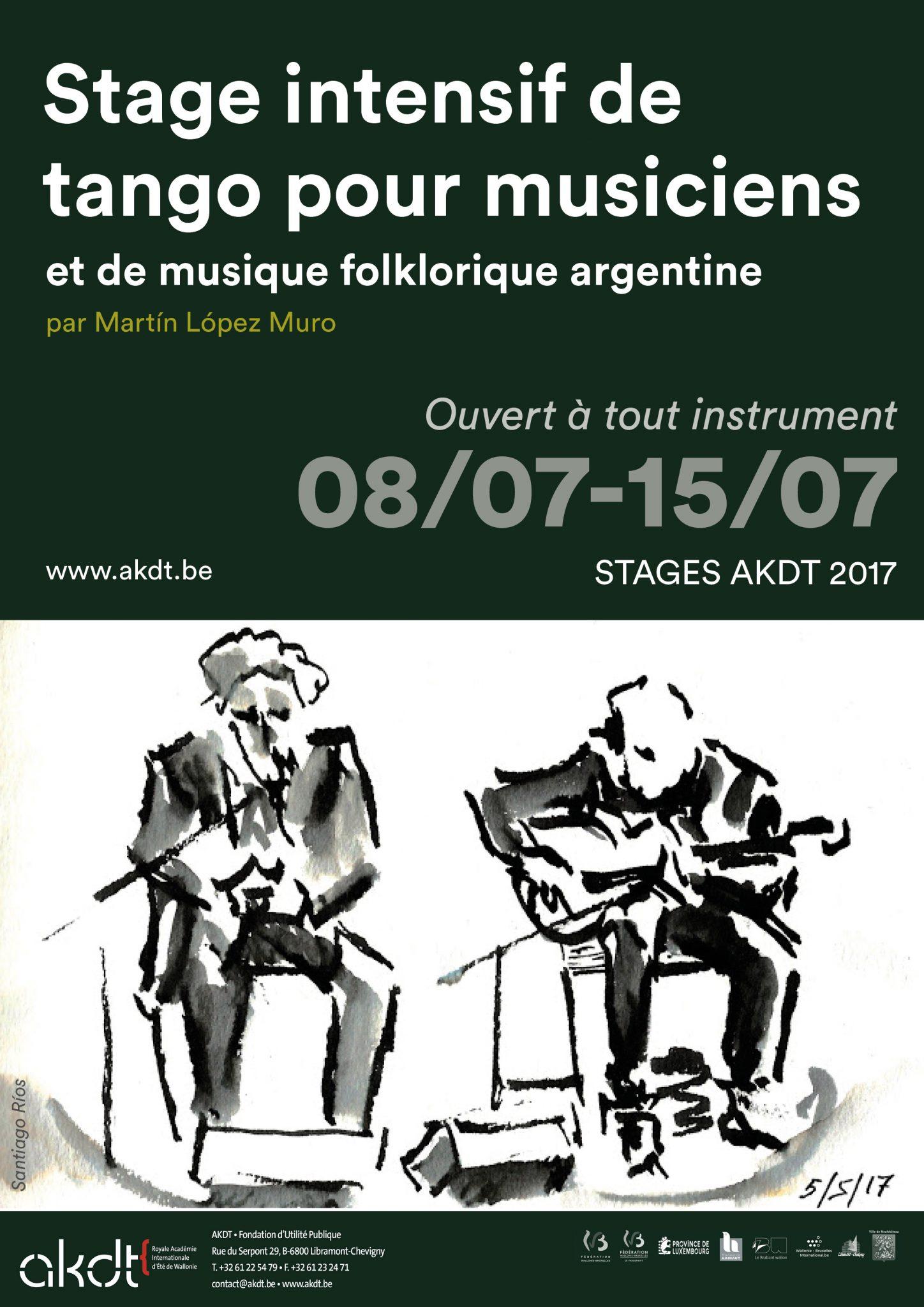 Tango Workshop for musiciens @ Akdt Neufchateau | Waals Gewest | België