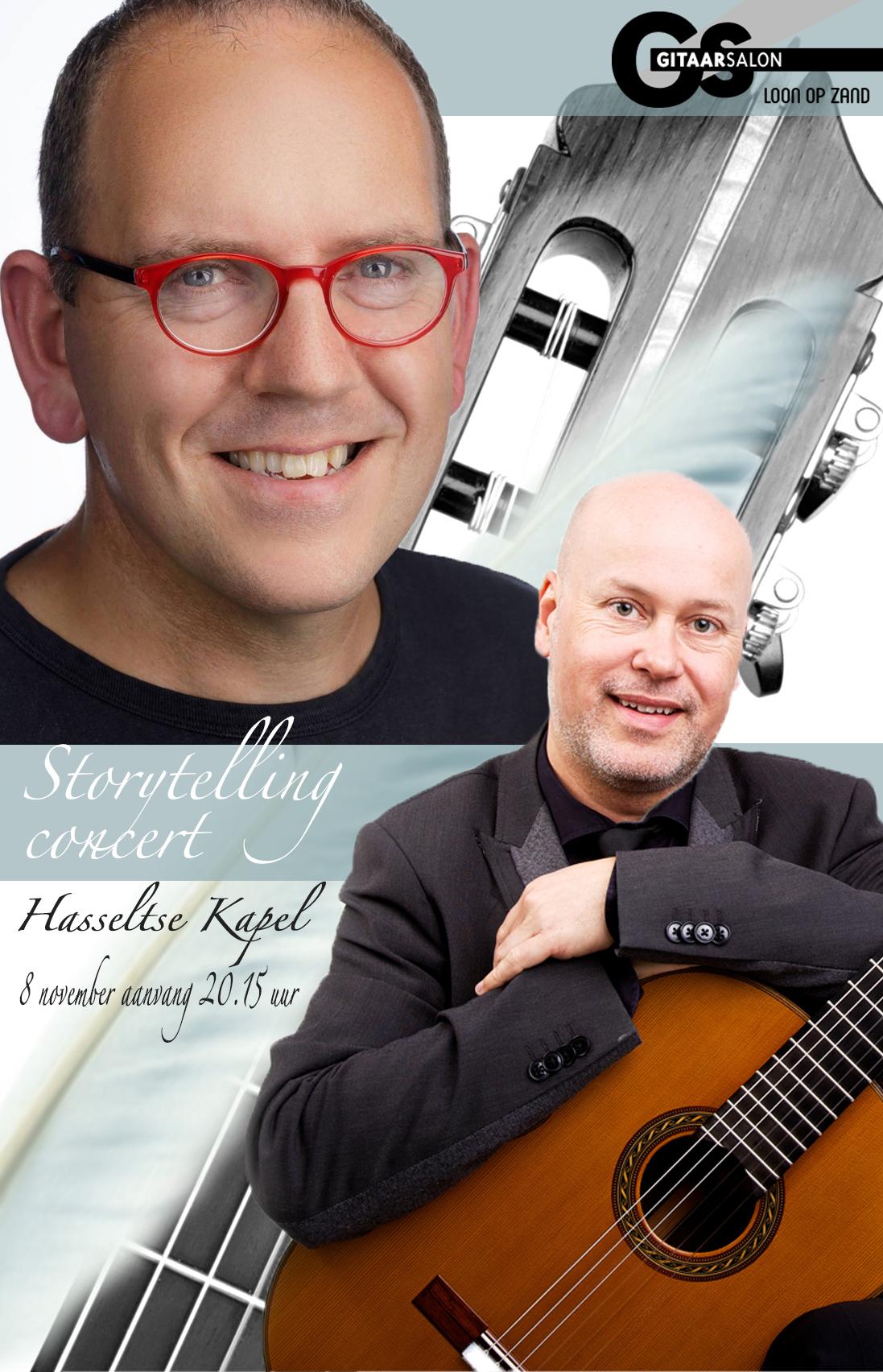 Storytelling concert @ Hasseltse kapel | Tilburg | Noord-Brabant | Nederland