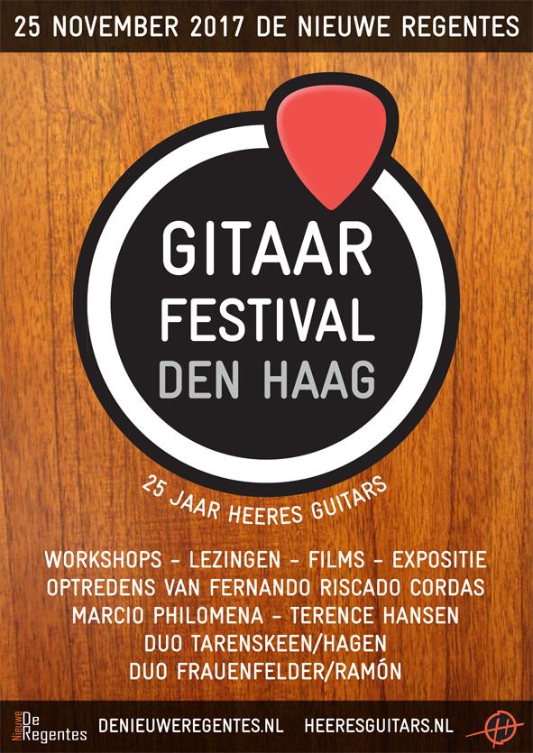 Gitaarfestival Den Haag | 25 jaar Heeres Gitaarbouw @ Theater De Nieuwe Regentes | Den Haag | Zuid-Holland | Nederland