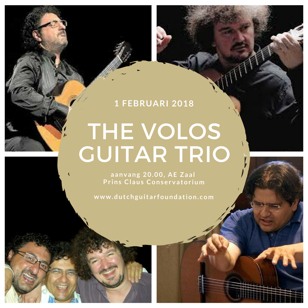 Volos Guitar Trio: 1st European Guitar Concerto Festival & Competition Groningen @ Prins Claus Conservatorium  | Groningen | Groningen | Nederland