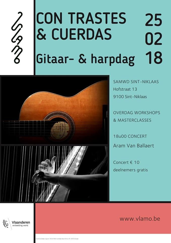 Vlamo Gitaardag @ SAMWD Sint-Niklaas | Sint-Niklaas | Vlaanderen | België
