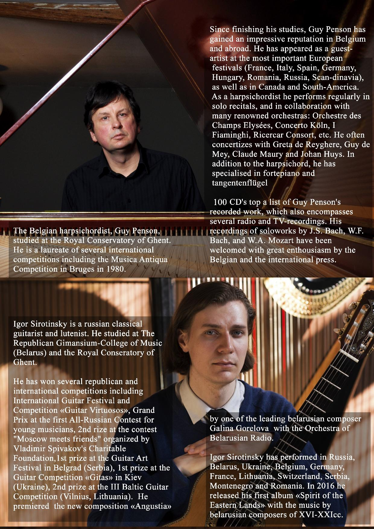 Great Lute Concertos - Igor Sirotinsky / Guy Penson @ AVC Gemino | Kortrijk | België