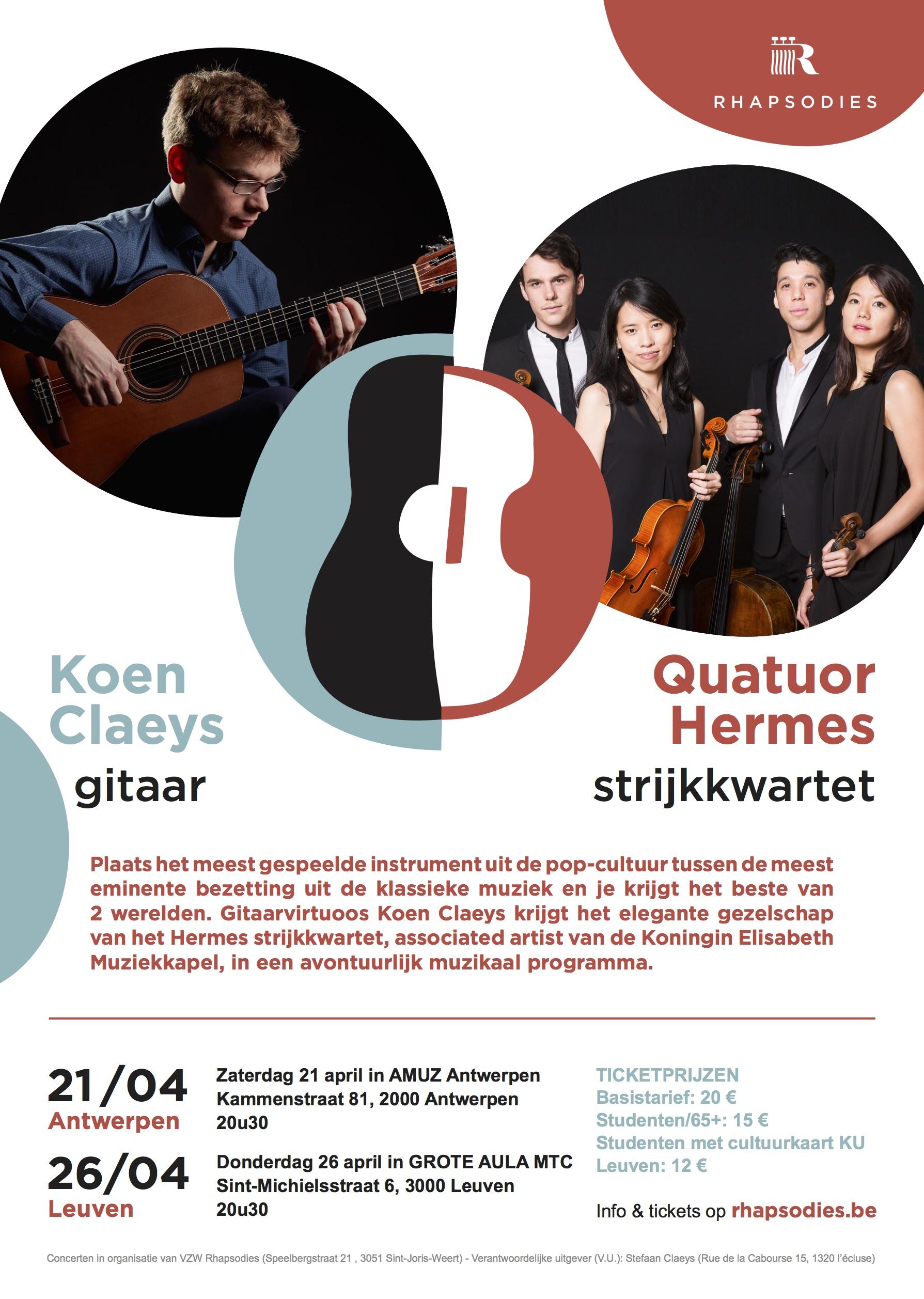 Rhapsodies - Koen Claeys @ Amuz | Antwerpen | Vlaanderen | België