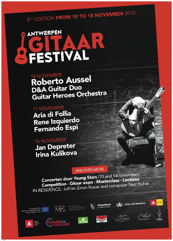 Antwerpen Gitaarfestival • Folias @ CC Deurne | Antwerpen | Vlaanderen | België