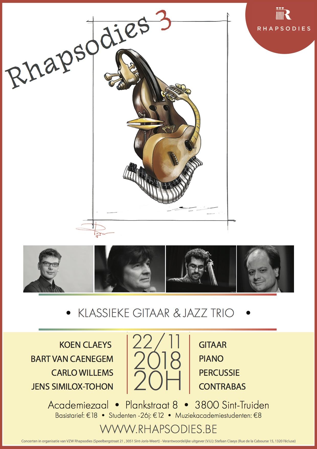 Rhapsodies III @ Academiezaal | Sint-Truiden | Vlaanderen | België