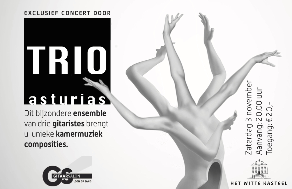 Concert Trio Asturias @ Witte Kasteel Loon op Zand   Loon op Zand   Noord-Brabant   Nederland