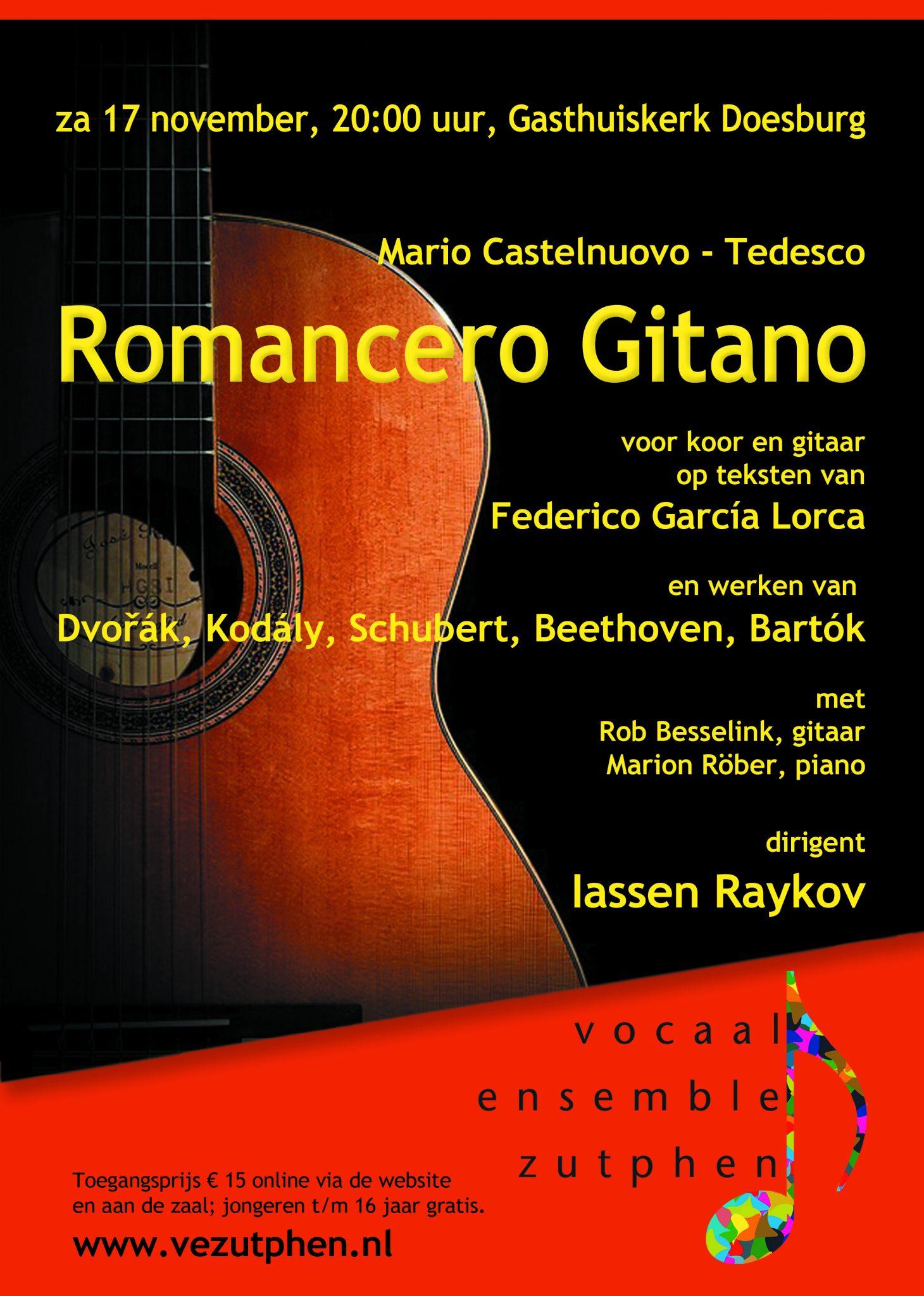 Romancero Gitano @ Gasthuiskerk  | Doesburg | Gelderland | Nederland