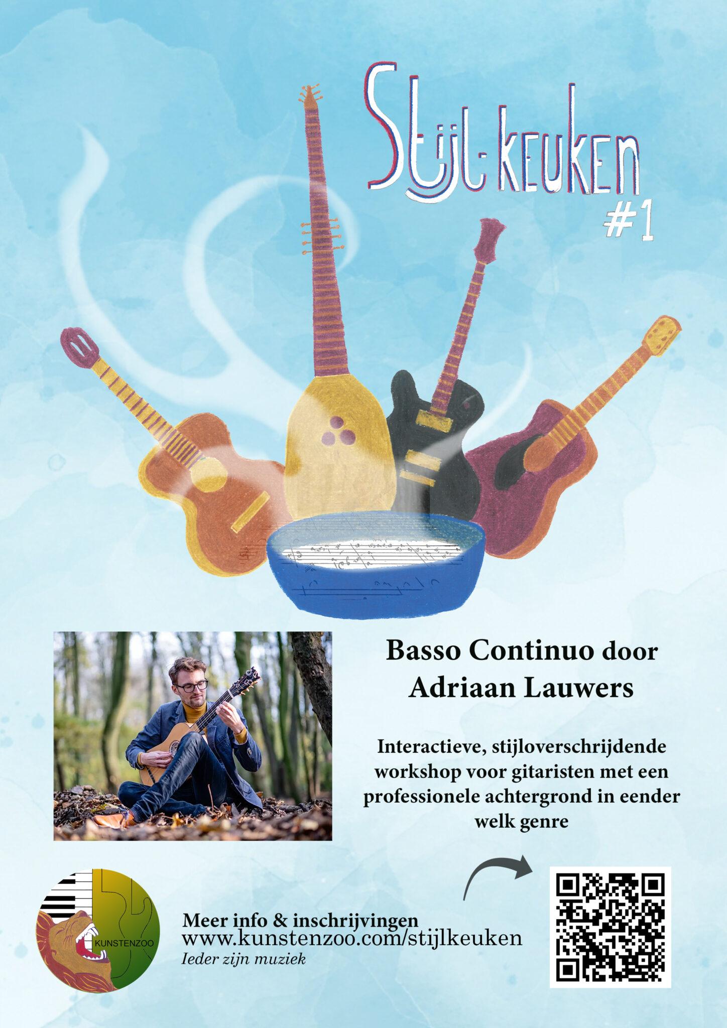 Workshop Basso Continuo door Adriaan Lauwers @ KUNSTENZOO | Antwerpen | Vlaanderen | België